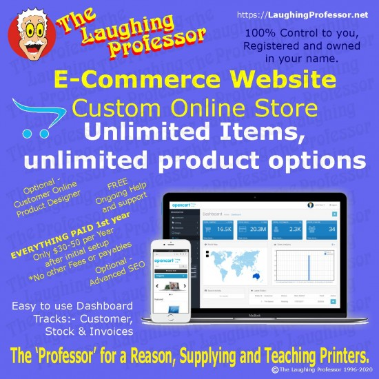 Website Ecommerce Package I