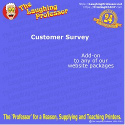 COMING SOON - Customer Survey