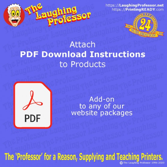 pdf Instructions download with product