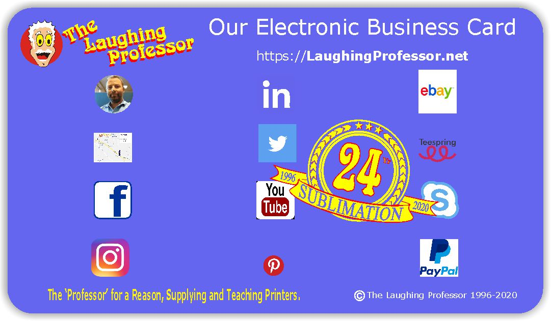 Our Electronic Business Card  PrintingREADY